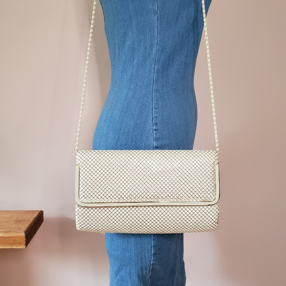 Vintage • chainmail crossbody
